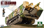 St. Chamond Early Type French Heavy Tank (New Tool)