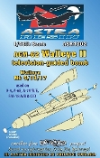 1/48 AGM62 Walleye II Mk 5/13/17 Television-Guided Bomb (Resin Armament)