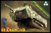 French WWI St. Chamond Heavy Tank (Late Type)