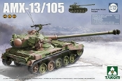 French AMX13/105 Light Tank (2 in 1)