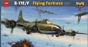1/32 B17E/F Flying Fortress Bomber w/Clear Bombardier Nose