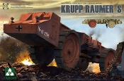 Krupp Raumer S WWII German Super Heavy Mine Clearing Vehicle