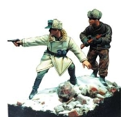 1/35 German Officers, Siege for Budapest