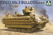 British FV432 Mk 3 Bulldog Armored Personnel Carrier (2 in 1)