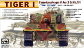 Tiger I PzKfw VI Ausf E SdKfz 181 Final Version Tank