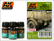 Mud Effects Enamel Paint Set