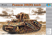 French 39(H) Tank w/37mm SA38 L/33 Long Barreled Gun