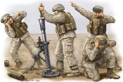 Modern US Marine M252 Team Figure Set (4)