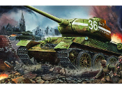 Russian T34/85 Model 1944 Factory Nr.183 Late Tank