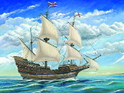 Mayflower Sailing Ship