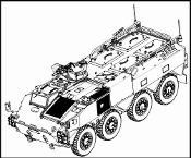 JGSDF Type 96 WAPC A Armored Personnel Carrier