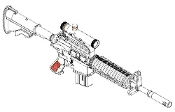 AR15/M16/M4 Family XM177E2 Machine Gun