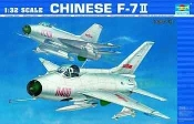 Chinese F7II Fighter (Variant of Mig21)