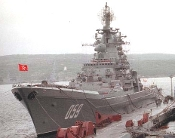 Russian Admiral Ushakov Battle Cruiser