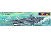 USS Nimitz CVN68 Aircraft Carrier (5 in 1)