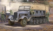 German SdKfz 6 Type BN9 5-Ton Halftrack, Pioneer Version