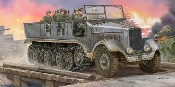 German SdKfz 6 5-Ton Medium Halftrack Artillery Tractor