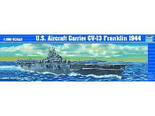 USS Franklin CV13 Aircraft Carrier 1944