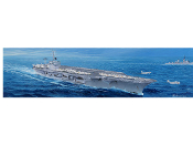 USS Nimitz CVN68 Aircraft Carrier 1975