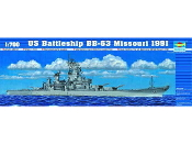 USS Missouri BB63 Battleship 1991