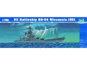 USS Wisconsin BB64 Battleship 1991