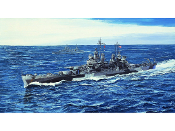 USS Pittsburgh CA72 Heavy Cruiser 1944