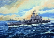 USS Washington BB56 Battleship