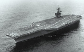USS Dwight D. Eisenhower CVN69 Aircraft Carrier 1978