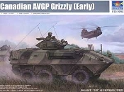 Canadian Grizzly 6x6 Armored Vehicle General Purpose (AVGP)