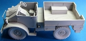 WWII CMP Ford F15 Military Truck in 1/35 scale Contains 122 resin parts,