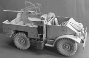 WWII Italian CMP Ford F15 Military Truck with 20mm Breda Gun Mod. 39 in 1/35 scale