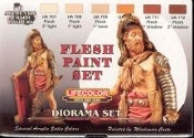 Flesh Tones Diorama Acrylic Set (6 22ml Bottles)