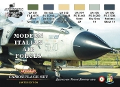 Italian Modern Air Force Camouflage Acrylic Set (6 22ml Bottles)