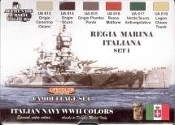 Italian Navy WWII Camouflage Acrylic Set (6 22ml Bottles)