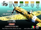 Italian WWII Fighters #1 Camouflage Acrylic Set (6 22ml Bottles)