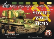 Soviet WWII Army Camouflage Acrylic Set (6 22ml Bottles)