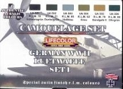 German WWII Luftwaffe #1 Camouflage Acrylic Set #1