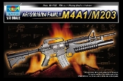 AR15/M16/M4 Family M4A1/M203 Machine Gun