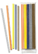 Hobby Stix Swizzle Stick Sanders (25 assorted grits/Bag)