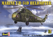 Marine UH-34D Helicopter