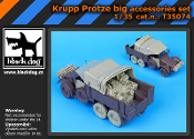 1/35 Krupp Protze big accessories set