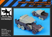 1/35 Krupp Protze accessories set
