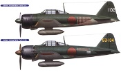 Mitsubishi A6M2b/A6m5 Zero Fighter