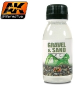 Gravel & Sand Fixer Enamel 35ml Bottle