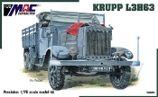 Krupp L3H63 Stake Side Cargo Truck Open Cab