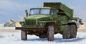 Russian BM-21 Hail MRL Early