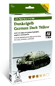 AFV German Dark Yellow Paint Set