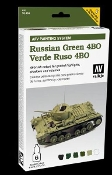 AFV Russian Green 4BO Paint Set