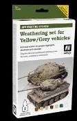 AFV Yellow/Grey Vehicles Weathering Set