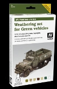 AFV Green Vehicles Weathering Set